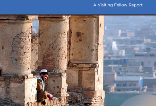 Pakistan, India, and China after the U.S. Drawdown from Afghanistan: A Visiting Fellow Report